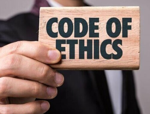 Ethics is not a matter of course